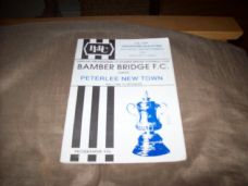 Bamber Bridge v Peterlee New Town, 1992/93 [FA]